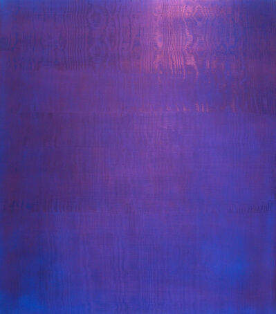Rolf Rose, 'Untitled (violet, shimmering)', 1996