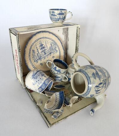 Richard Shaw, 'Canton Creamware Collection Spill', 2018