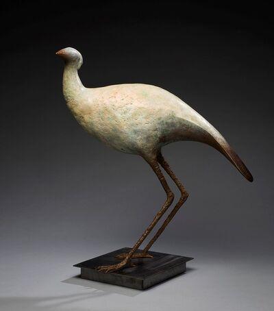 Copper Tritscheller, 'Large Bird', Contemporary