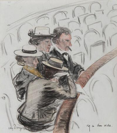 Kees van Dongen, 'Y'a du vide', ca. 1900