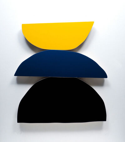 Andrew Zimmerman, 'Black, Blue, Yellow', 2020