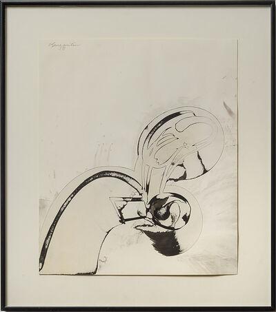 Matsumi Kanemitsu, 'Untitled #23', 1958