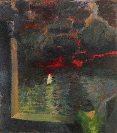 Elmer Bischoff, 'Figure at Window with Boat', 1964