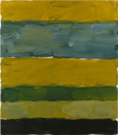 Sean Scully, 'LANDLINE YELLOW YELLOW', 2014