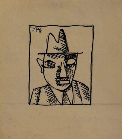 Joaquín Torres-García, 'Hombre con sombrero', 1921