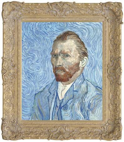 John Myatt, 'Vincent Van Gogh, Self Portrait Remy, 1889', 2017