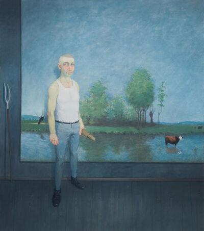 Rodrigo Cunha, 'Interior com Paisagem Lacustre [Landscape Interior with Lake]', 2014