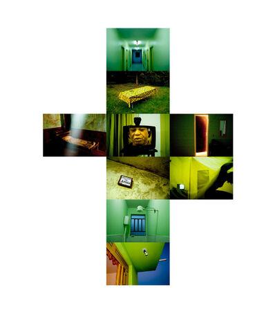João Castilho, 'Hotel Tropical - Verde[Tropical Hotel - Green]', 2011
