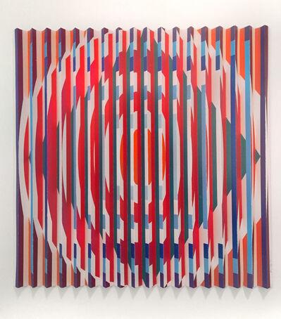 Yaacov Agam, 'Orchestration Visuelle Cercles Carrés', 2005