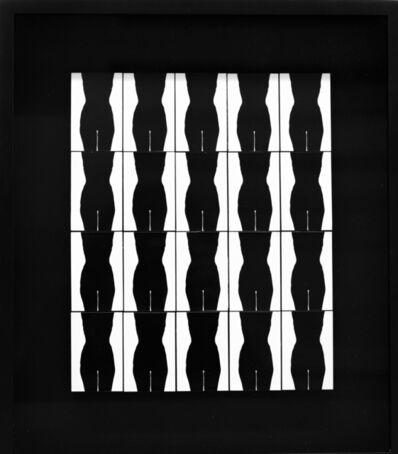 Ray K. Metzker, 'Nude Torso II', 1965