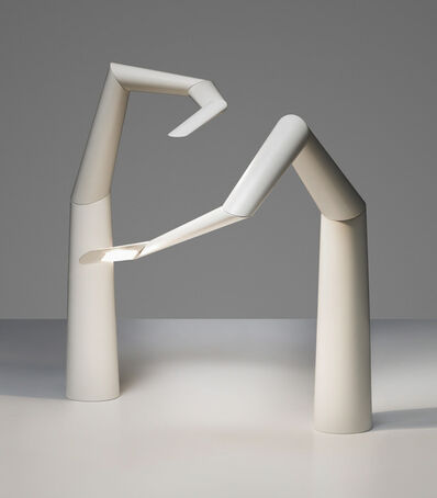 Ingo Maurer, 'A pair of adjustable 'Spyre' table lamps', 2016