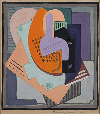 Blanche Lazzell, 'Abstract Composition', 1924