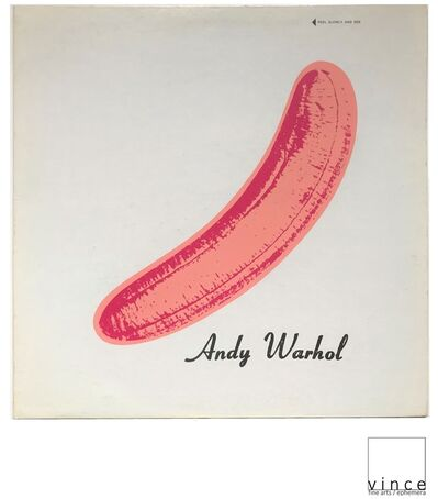 "Andy Warhol, 'NEAR MINT- ""Velvet Underground & Nico"", 1967, ""PEELED"" Torso/Black Banner Sticker, USA Mono Copy, MUSEUM QUALITY, RARE', 1967"