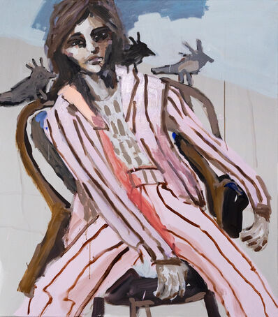 Mie Olise Kjærgaard, 'In a Pink Suit and Three Birds on Your Shoulder', 2021