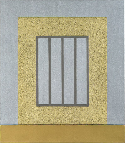 Peter Halley, 'Gold Prison', 1999