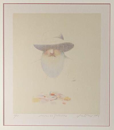 Milton Glaser, 'Monet's Palette', 1981