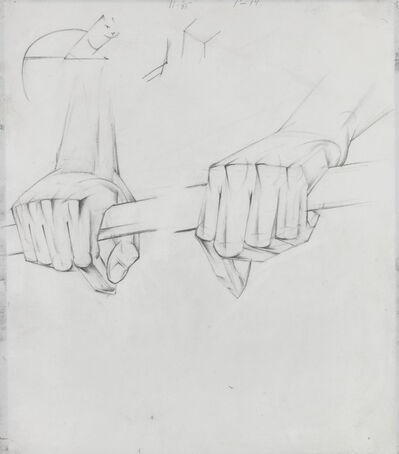 Alexander Bogomazov, 'Hands', 1928-29