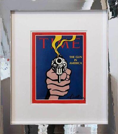 Roy Lichtenstein, 'The Gun in America (Time Magazine)', 1968