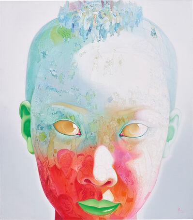 Xiao Hong 肖红, 'Intellectual Youth (Green)', 2007