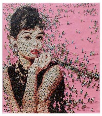 Syaiful Rachman, 'Audrey Hepburn- Pink', 2020