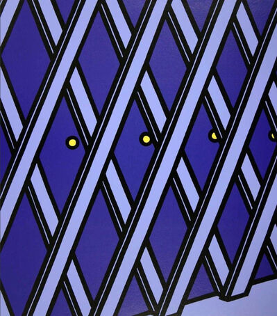 Patrick Caulfield, 'I'll take my life monotonous (Cristea 38 e)', 1973