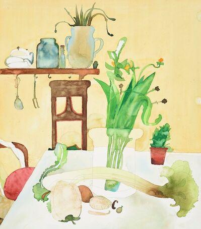 David Evans, 'Still-life with vegetables', 1970