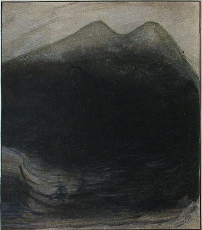 Alfred Kubin, 'Lake Monster ', ca. 1900