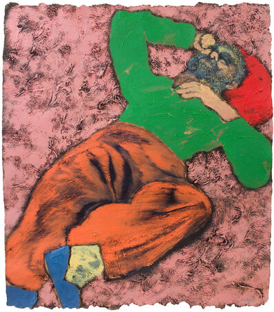 R. B. Kitaj, 'Fed Up, Again', 1981