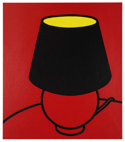 Patrick Caulfield, 'I've only the friendship of hotel rooms', 1973