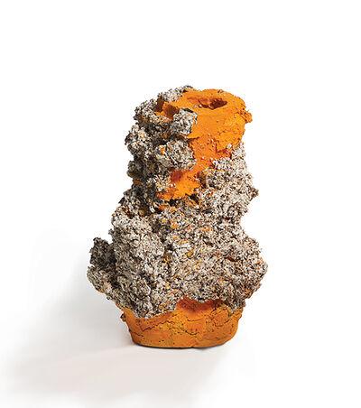 Aneta Regel, 'Orange Raining Stone', 2017