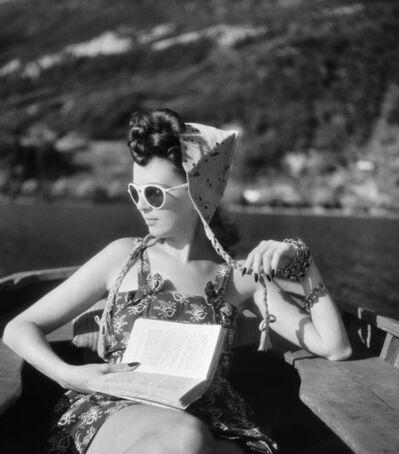 Jacques Henri Lartigue, 'Florette, Talloires', 1943
