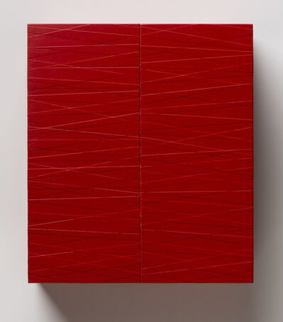 Tadaaki Kuwayama, 'Untitled (Red Box)', 1989