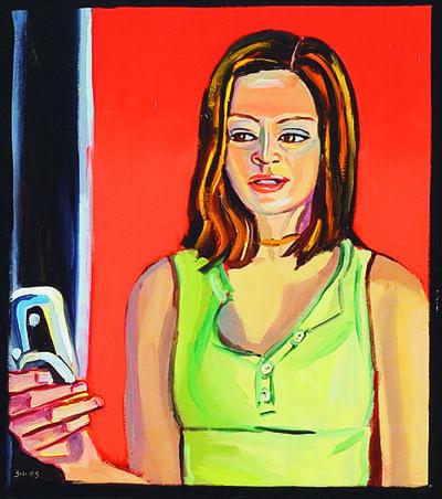 Stewart MacFarlane, 'Anne Chung with mobile (Hobart)', 2005