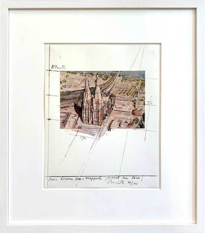Christo, 'Mein Kölner Dom Wrapped', 1985