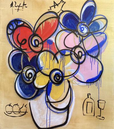 Domingo Zapata, 'Flowers', 2021