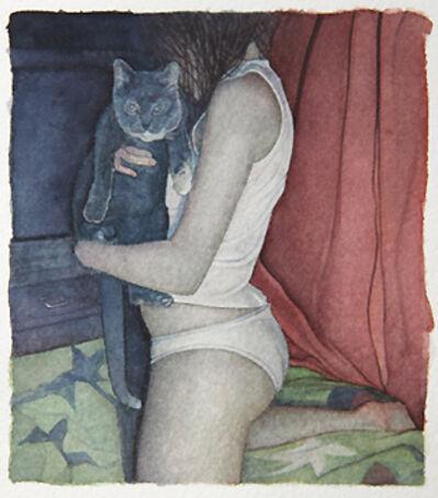 Samara Umbral, 'Reagan with cat', 2015