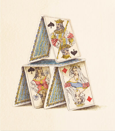 Dalia Ramanauskas, 'Martha's Card House', 1969