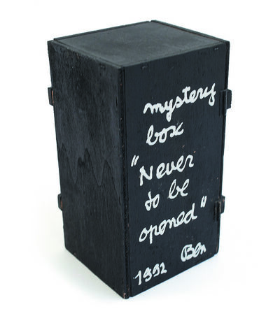 Ben Vautier, 'Mystery box never to be opened', 1992