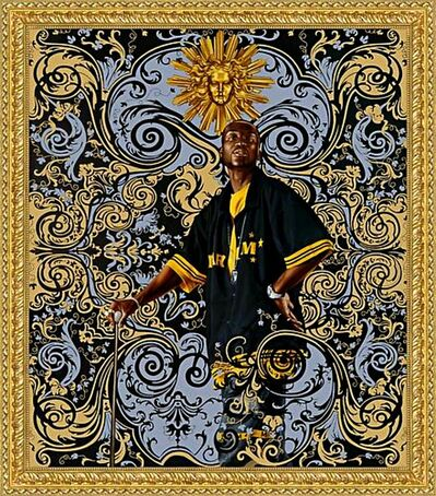 Kehinde Wiley, 'Large Beach Towel', ca. 2015