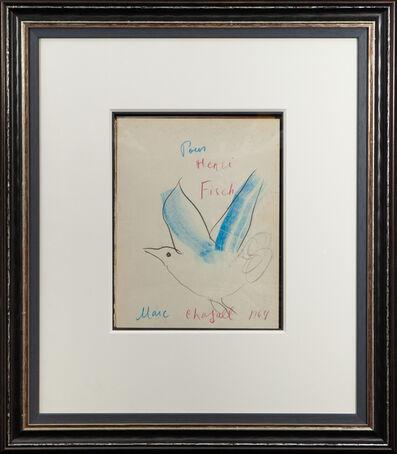 Marc Chagall, 'L'oiseau Bleu (Blue Bird)', 1964