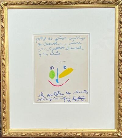 Pablo Picasso, 'Tête colorée', 1961
