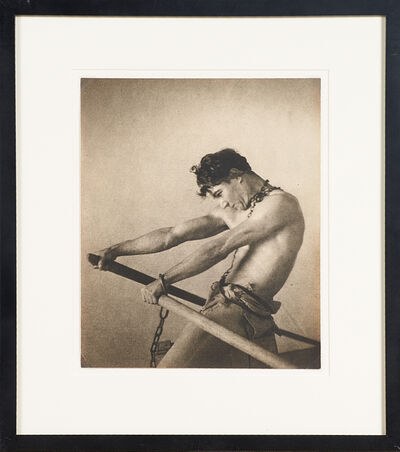 "William Mortensen, '""The Oarsman (The Galley Slave)""', ca. 1926"
