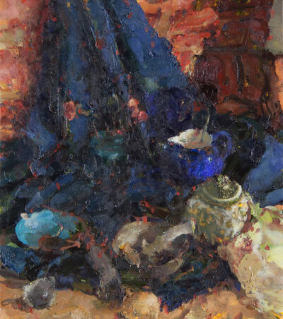 Jordan Wolfson (b.1960), 'Still Life with Pitcher and Two Bowls III', 2014