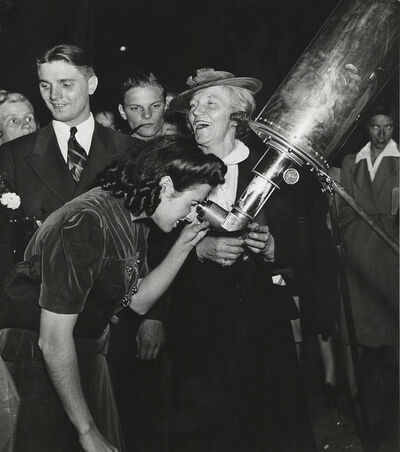 Weegee, 'A Trip to Mars, Times Square, New York', 1943