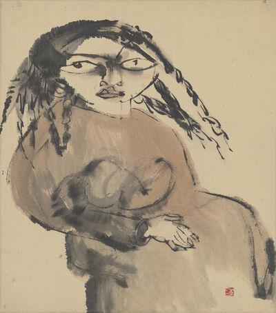 Li Jin 李津, 'Tibetan Woman 藏女', 1984