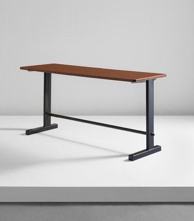 Jean Prouvé, 'Cité desk, model no. 500, designed for the Bourse Maritime, Paris', 1953