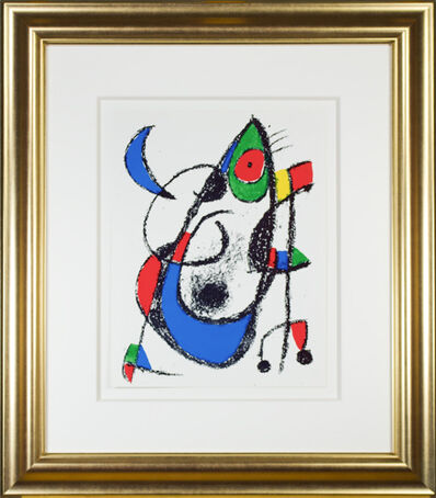 "Joan Miró, 'Original Lithograph XI from ""Miro Lithographs II, Maeght Publisher""', 1975"