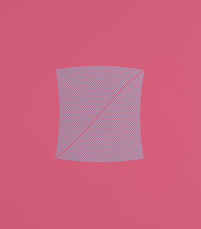 Tess Jaray RA, 'River Pink & Blue', 2009