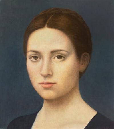 Alberto Gálvez, 'Azul oscuro Catharina van Hemessen', 2019
