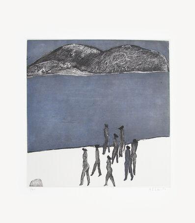 Joy Laville, 'Ocho mujeres en playa 1/40', ca. 2010